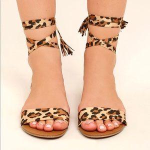 Lace up sandals *bundle of 2*